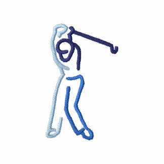 Golfista de sexo masculino polo bordado