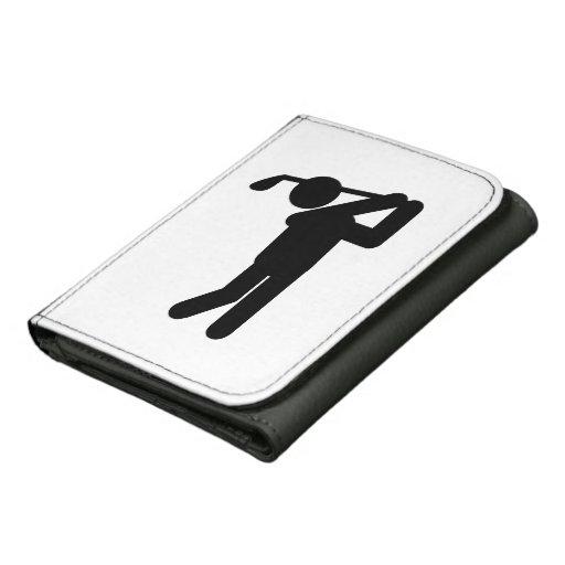 Golfista de sexo masculino - símbolo del golf