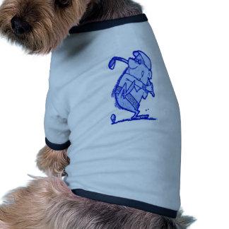 golfista del absract ropa perro
