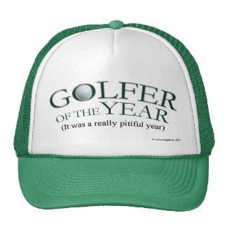 Golfista del año gorros