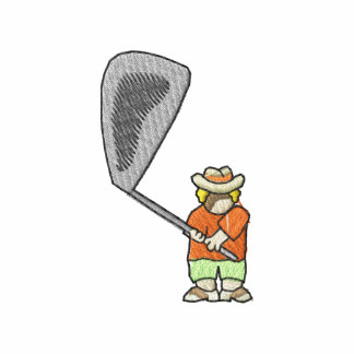 Golfista del dibujo animado