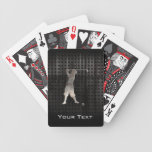 Golfista del vintage; Fresco Baraja Cartas De Poker