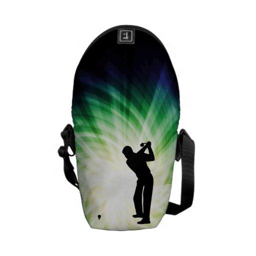 Golfista fresco bolsas de mensajeria