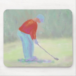 Golfista, Mousepad