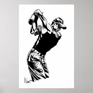 golfista poster