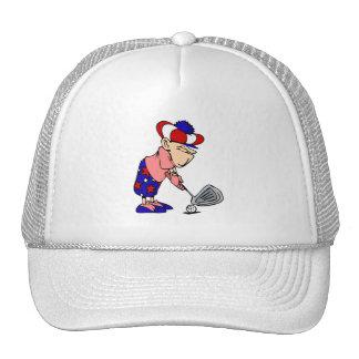 Golfista patriótico gorra