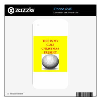 golfista skin para el iPhone 4