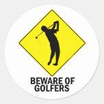 Golfistas Etiqueta