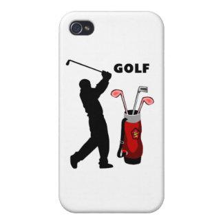 Golfistas iPhone 4 Funda