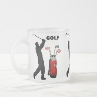 Golfistas Taza De Cristal