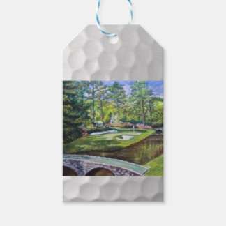 Golfland painting gift tag
