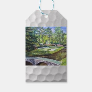 Golfland painting gifttag gift tags
