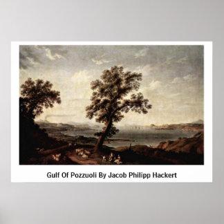 Golfo de Pozzuoli de Jacob Philipp Hackert Posters