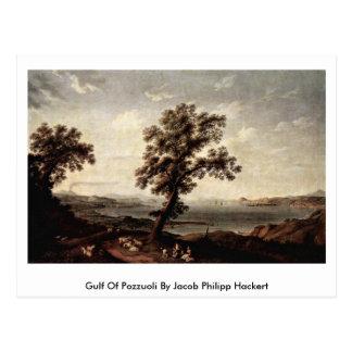 Golfo de Pozzuoli de Jacob Philipp Hackert Postales