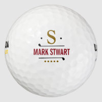 golfplayer custom monogram golf balls