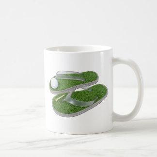 GolfShoesBallTee062011 Classic White Coffee Mug