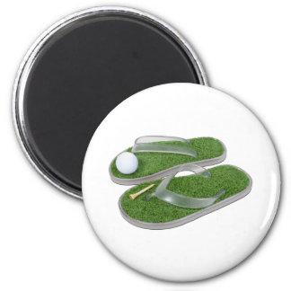 GolfShoesBallTee062011 Fridge Magnets