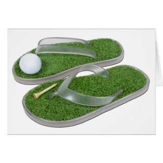 GolfShoesBallTee062011 Greeting Card