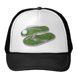 GolfShoesBallTee062011 Trucker Hat