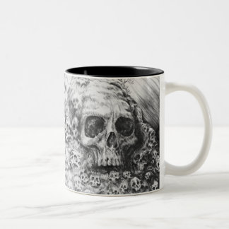Golgotha Two-Tone Coffee Mug
