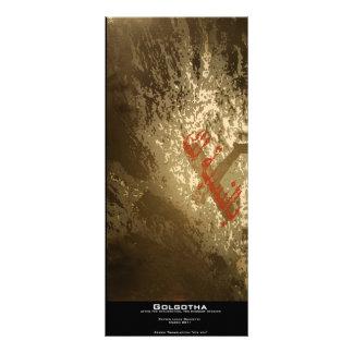 """Golgotha"" Value Bookmark Personalized Rack Card"