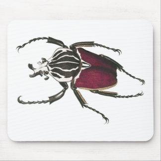 Goliath Beetle Mouse Pad