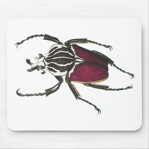 Goliath Beetle Mouse Pad