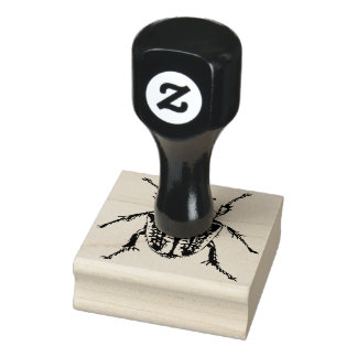 Goliath Beetle Rubber Stamp
