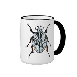 Goliath Beetle (single) Ringer Coffee Mug