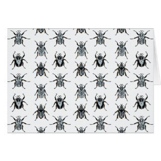 Goliath Beetles Card