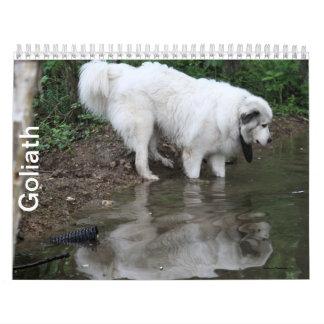 Goliath Wall Calendars