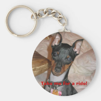 Goliath, Come home soon! Basic Round Button Keychain