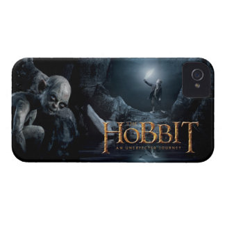 Gollum and Bilbo iPhone 4 Cover