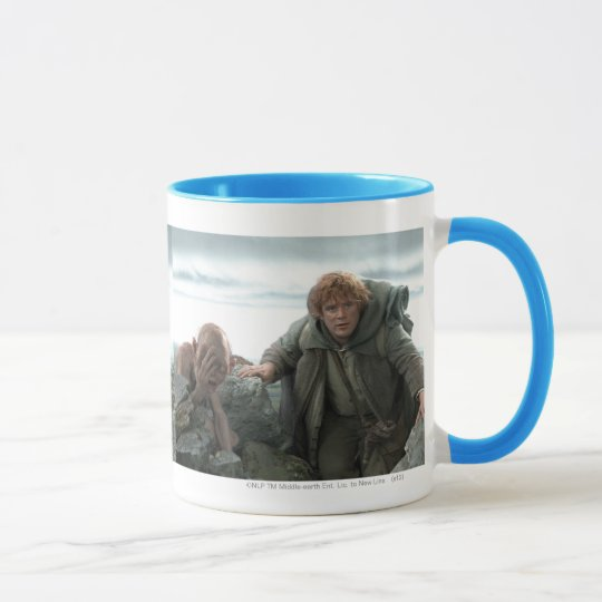 Gollum and Samwise Mug