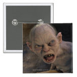 Gollum Close Up Pinback Button