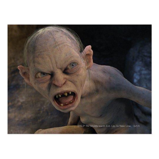 Gollum Close Up Postcard