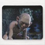 Gollum con sonrisa alfombrillas de ratones