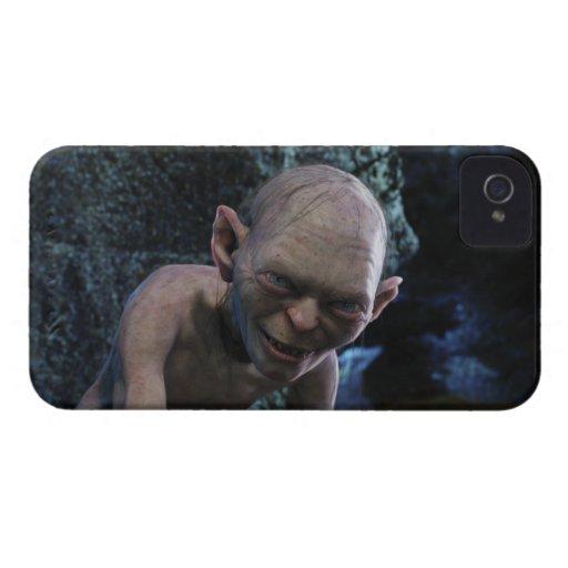 Gollum con sonrisa iPhone 4 carcasa
