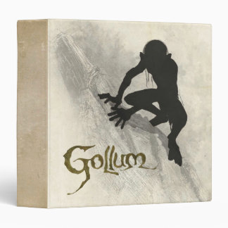 Gollum Concept Sketch 3 Ring Binder