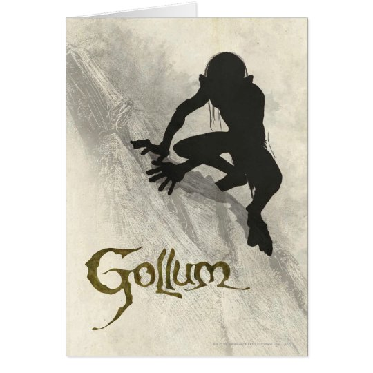 Gollum Concept Sketch Card