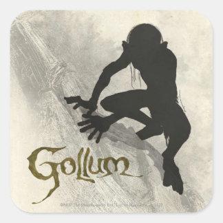 Gollum Concept Sketch Square Sticker