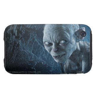 Gollum en cueva carcasa resistente para iPhone