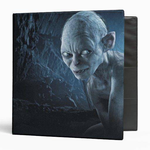 """Gollum en cueva carpeta 1 1/2"""""""