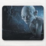 Gollum en cueva mouse pad