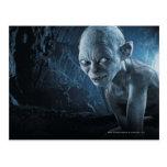 Gollum en cueva tarjetas postales
