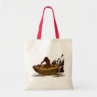 Gollum en una balsa bolsa lienzo
