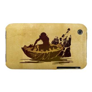 Gollum en una balsa iPhone 3 carcasas