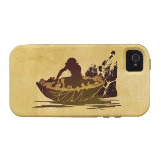 Gollum en una balsa iPhone 4 carcasa