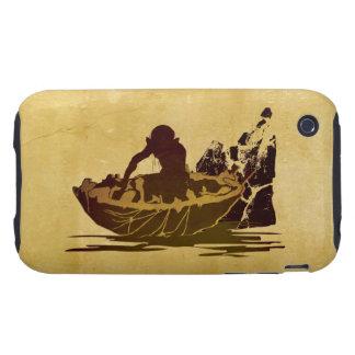 Gollum en una balsa tough iPhone 3 cobertura