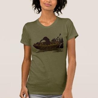 Gollum en una balsa camisetas
